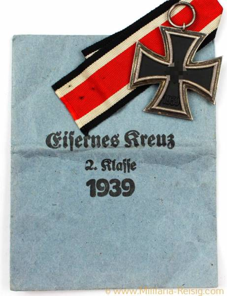 Eisernes Kreuz 2. Klasse 1939, Herst. Fritz Zimmermann Stuttgart