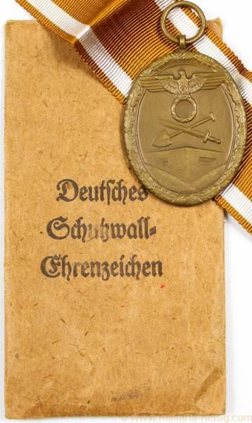 Schutzwall Ehrenzeichen, Herst. Carl Poellath Schrobenhausen