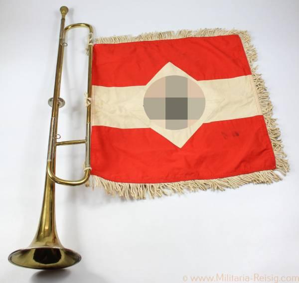 HJ Trompete / Fanfare und Fanfarentuch