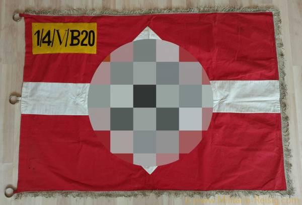 Fahne der HJ-Gefolgschaft, Bayern, extrem selten!