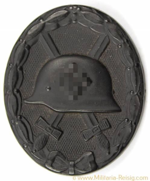Verwundetenabzeichen 1939 in Schwarz 2. Form