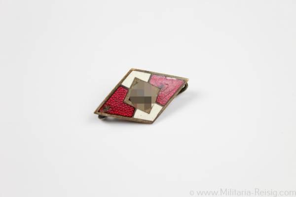 HJ (Hitlerjugend) Mitgliedsabzeichen, Herst. M1/101 - Gustav Brehmer, Markneukirchen