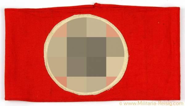 NSDAP Armbinde mit RZM-Etikett