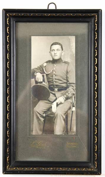Erinnerungsfoto Militärzeit 1906-08 Amberg-Sulzbach