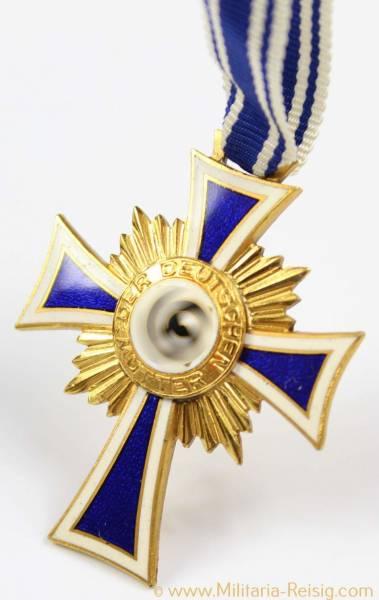 Ehrenkreuz der Deutschen Mutter 1.Stufe Gold (2.Form)