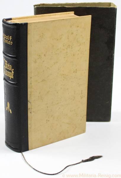 Mein Kampf Hochzeitsausgabe 1936 mit Widmung Standesamt Solz