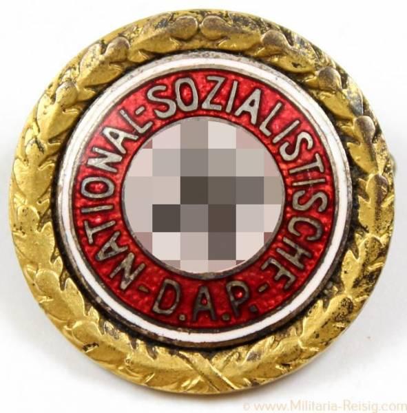 Goldenes Ehrenzeichen der NSDAP, kleine Ausführung, 23mm