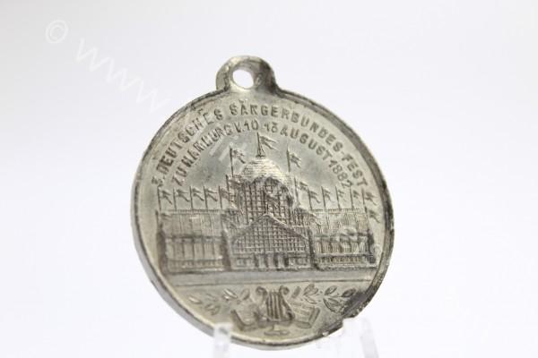 Medaille, 5 Deutsches Sängerbundes-Fest 1882 Hamburg
