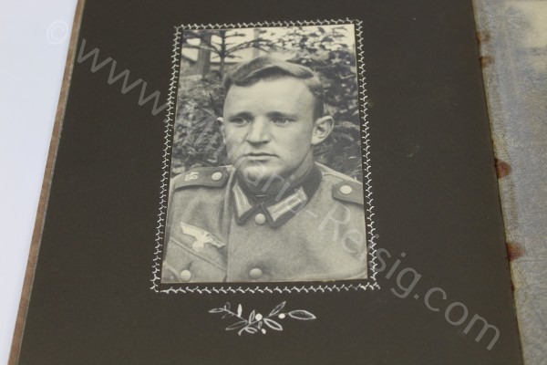 Fotoalbum eines Heeres-Soldaten - Wehrmacht