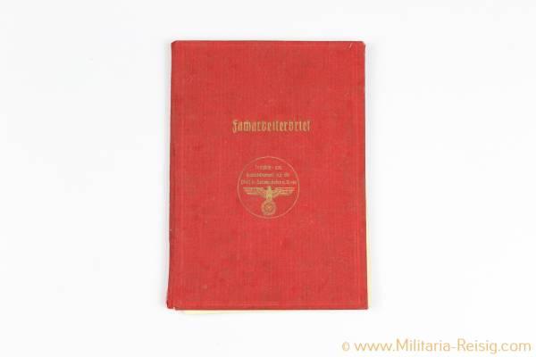 Facharbeiterbrief, Die Industrie- und Handelskammer für die Pfalz 1938