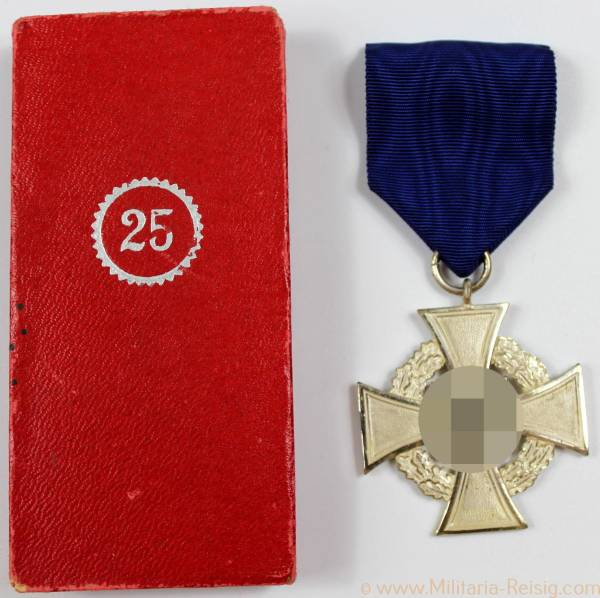 Treudienst Ehrenzeichen 25 Jahre im Etui