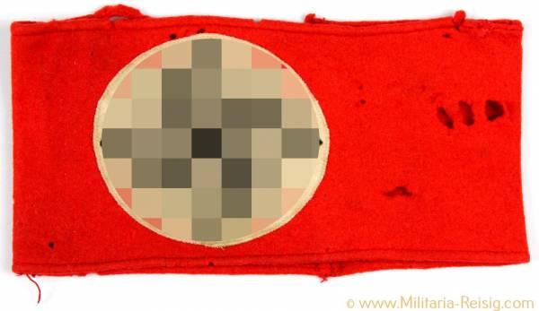 NSDAP Armbinde aus Wollfilz