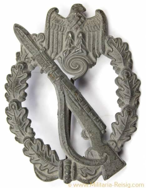 Infanterie Sturmabzeichen (Hohlprägung) in Silber, Herst. Franke, Dr. & Co.
