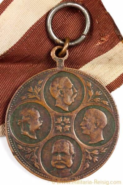 Medaille Kaisermanöver, 1890 in Schlesien