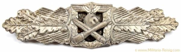 Nahkampfspange des Heeres in Silber, Herst. R. S. (Rudolf Souval, Wien) mit Expertise
