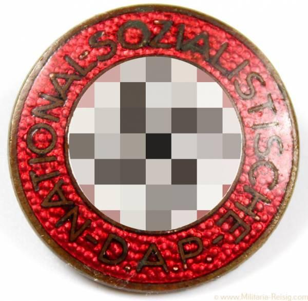NSDAP Parteiabzeichen, Herst. RZM M1. 25. (Rudolf Reiling, Pforzheim)