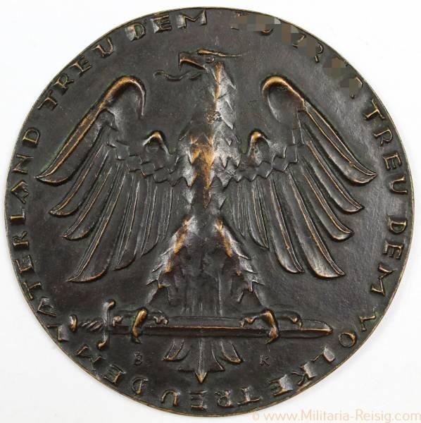 "Nichttragbare Plakette ""Treu dem Führer, Treu dem Volke, Treu dem Vaterland"", 3. Reich"