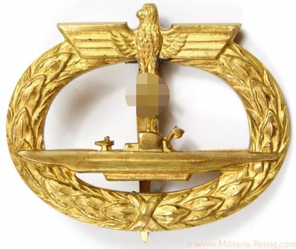 U-Boot-Kriegsabzeichen 1939, Herst. Schwerin Berlin