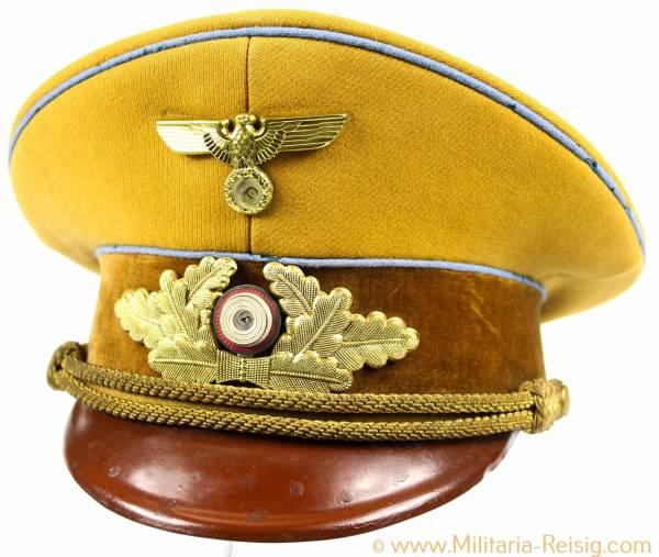 NSDAP Schirmmütze für Politische Leiter der Ortsgruppenleitung