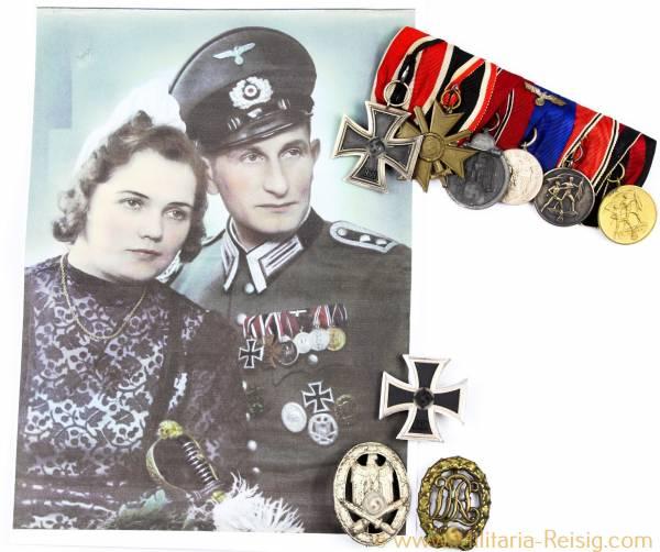 Orden Nachlass eines Oberfeldwebels der Wehrmacht, Artillerie