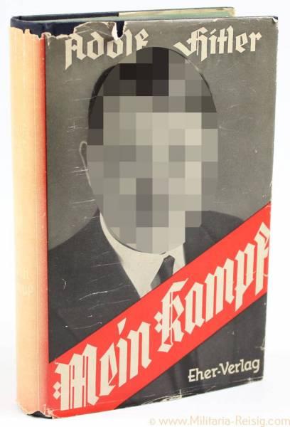 Mein Kampf Volksausgabe 1942 mit Schutzumschlag