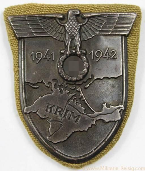 Krimschild Afrikakorps, selten!