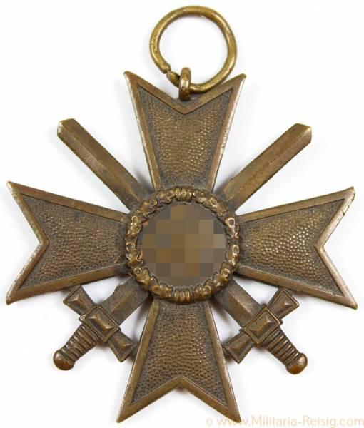 Kriegsverdienstkreuz 2. Klasse mit Schwerter, Herst. 61 (Rudolf A. Karneth & Söhne, Gablonz)