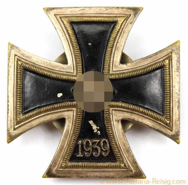 Eisernes Kreuz 1.Klasse 1939 an Schraubscheibe, Herst. Juncker, Berlin
