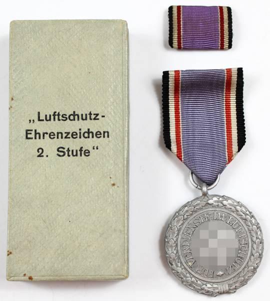 Luftschutz Ehrenzeichen 2. Stufe im Etui