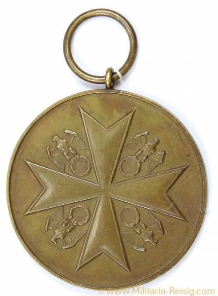Deutsche Verdienstmedaille 1937 in Bronze in Frakturschrift