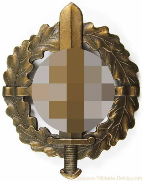 SA-Sportabzeichen in Bronze, Herst. Berg & Nolte Lüdenscheid