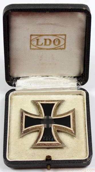 Eisernes Kreuz 1. Klasse 1939, Herst. L/12 (C. F. Juncker, Berlin)