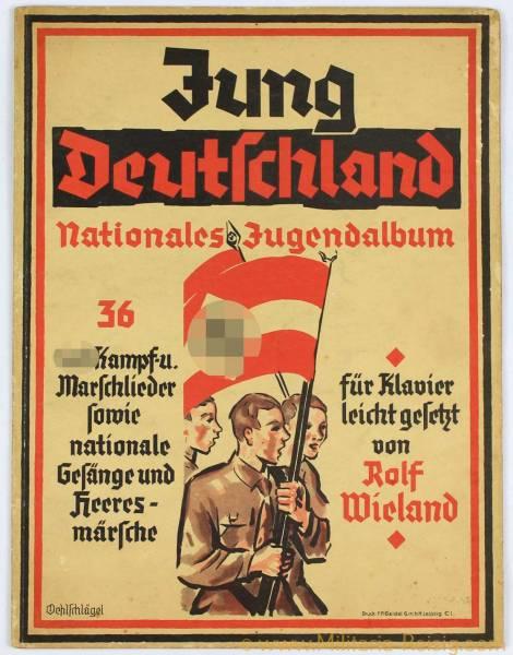 "Jung Deutschland ""Nationales Jugendalbum"""