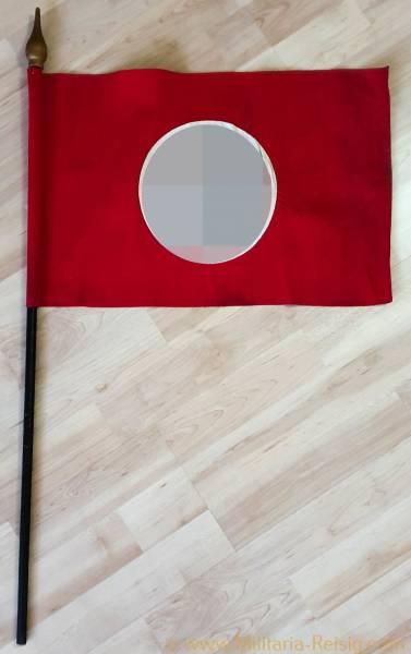 NSDAP Fahne mit Fahnenstock