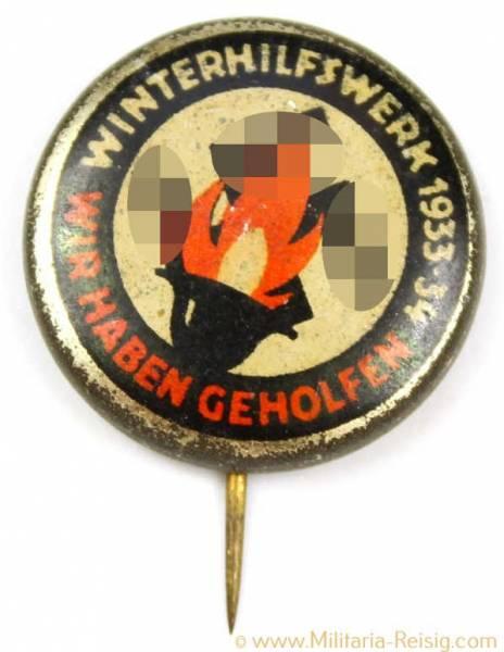 """Winterhilfswerk """"Wir Haben Geholfen"""" - 1933/34"""