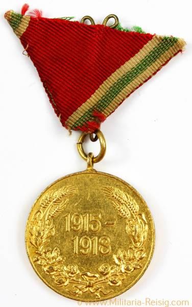 Bulgarien Kriegserinnerungsmedaille 1915-1918