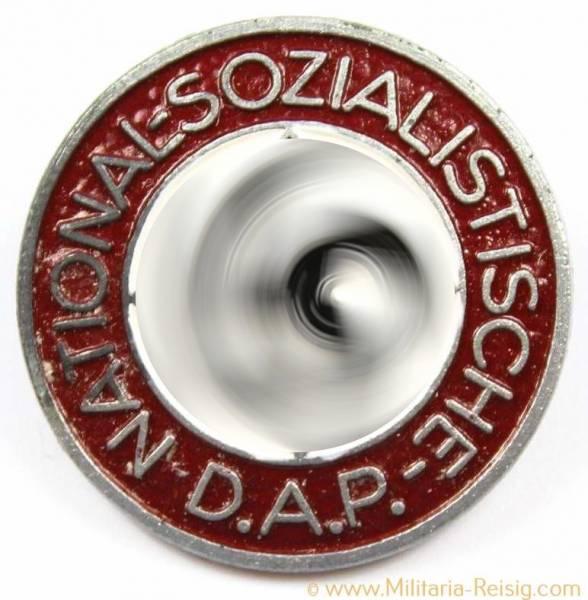 NSDAP Parteiabzeichen, Herst. RZM M1/34 - Karl Wurster, Markneukirchen