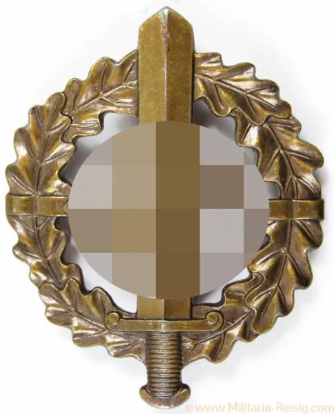 SA-Sportabzeichen in Bronze, Herst. Werner Redo, Saarlautern