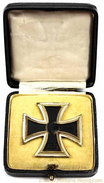 Eisernes Kreuz 1. Klasse 1939 im Etui, Hersteller 4, Steinhauer & Lück, Lüdenscheid