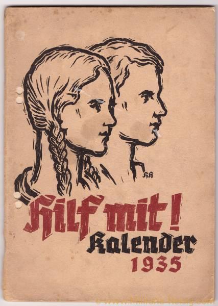 Hilf mit! Kalender 1935