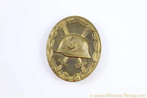 VwA - Verwundetenabzeichen in Gold, Herst. Hauptmünzamts Wien - 30