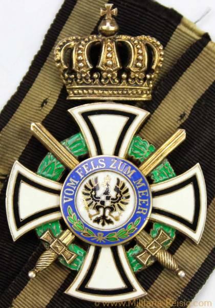 Königlicher Hausorden von Hohenzollern Kreuz der Ritter mit Schwertern, Preußen