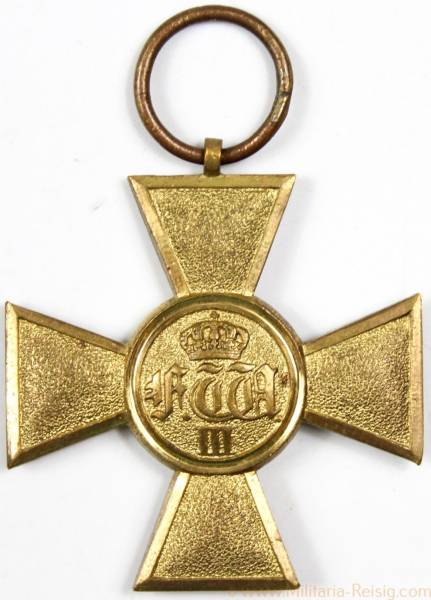 Dienstauszeichnung für Offiziere 1825, Preußen