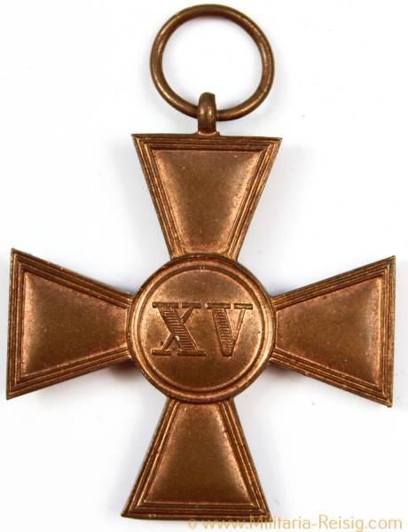 Dienstauszeichnung 1.Klasse 1913 für 15 Jahre