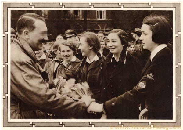 Postkarte Adolf Hitler, 3. Reich