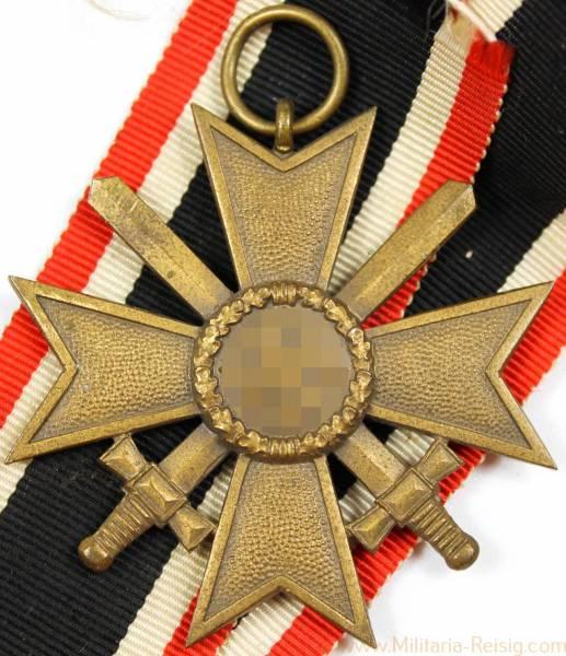 Kriegsverdienstkreuz 2. Klasse mit Schwerter, Herst. 95 (Adolf Scholze, Grünwald)