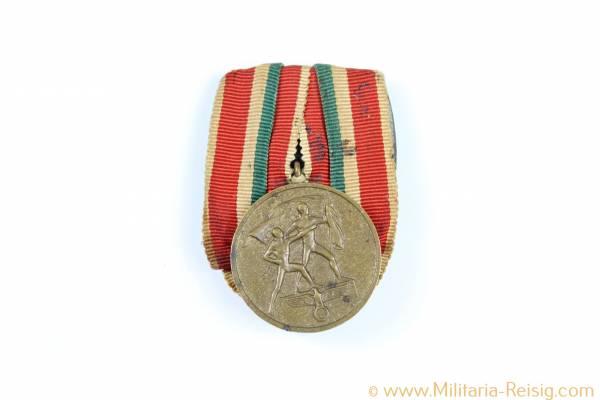 Memelland-Medaille, Medaille zur Erinnerung an die Heimkehr des Memellandes, selten