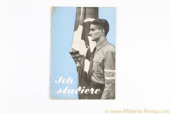 """""""Ich studiere"""" - Ein Überblick über die Arbeit des deutschen Studententums 1940, 3. Reich"""