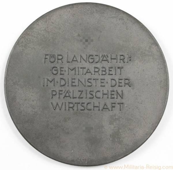 Medaille für langjährige Mitarbeit im Dienst der pfälzischen Wirtschaft, 3. Reich