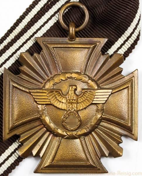 Dienstauszeichnung der NSDAP 1.Stufe Bronze, 8 (Eugen Schmidhaussler, Pforzheim)